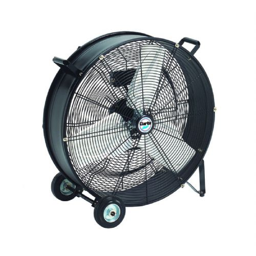 "Clarke CAM24 24"" Robust Portable Electric Drum Fan 5500cfm 240V~50Hz"